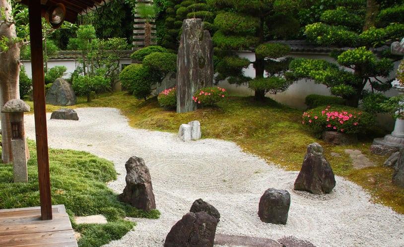 Giardino giapponese zen nihon teien giardino - Significato giardino zen ...