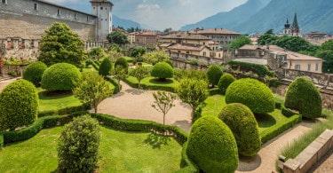 giardino italiano Trento