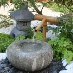 fontana giardino giapponese