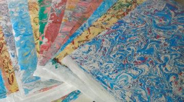 Rita e l'arte della carta e dei colori